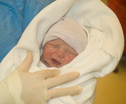 Nathaniel at birth