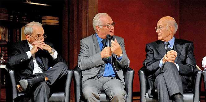 Amato, Bonde and Giscard d'Estaing