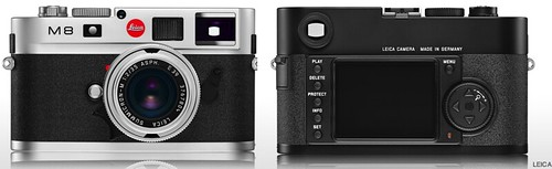 The controversial Leica M8 rangefinder digital camera