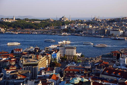 Views from the Galata Tower