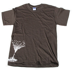 Bat Tank - Brown T-shirt