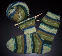 Green Socks - Luna