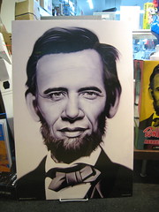 Obama-Lincoln Portrait