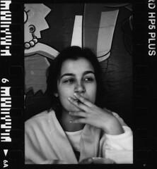 Ines V. (akio.takemoto) Tags: film blackwhite nikon hp5 ilford biancoenero pellicola f601