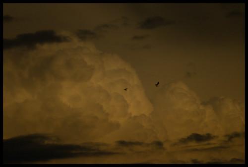 cumulonimbus over Santiago