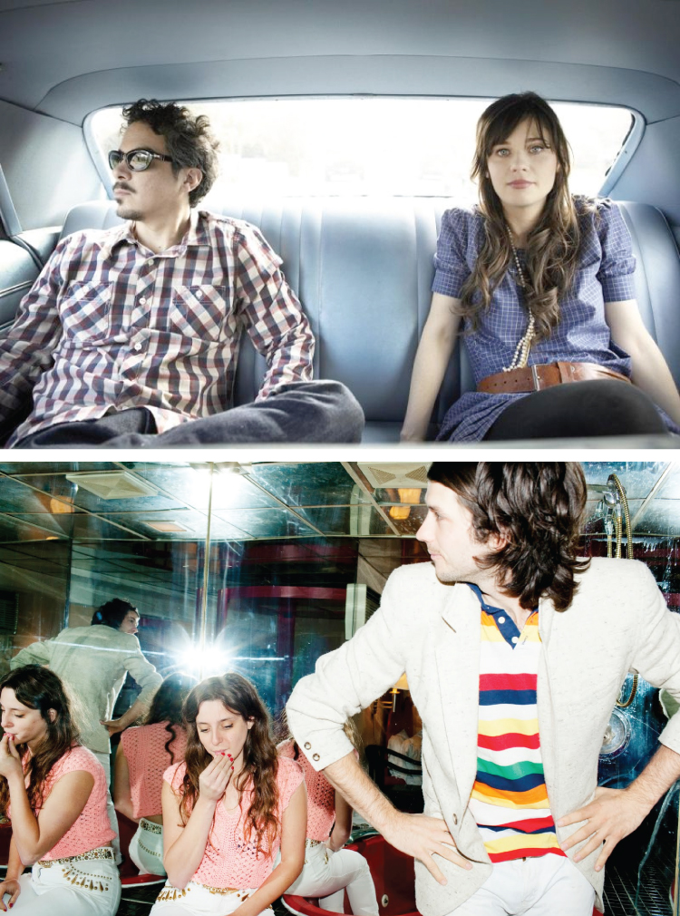 She and Him + Beach House