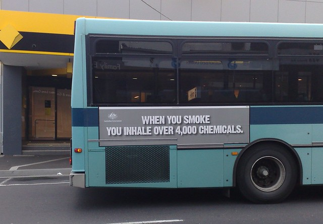 Bus advert