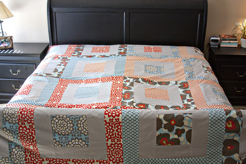 Quilt on my bed