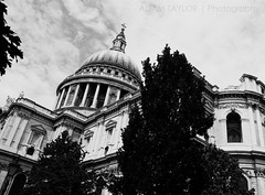 ~ St Paul's ~ (ADAM TAYLOR | Photography) Tags: above city uk roof england urban blackandwhite bw building slr london saint st skyline architecture digital canon buildings photography eos climb town photo blackwhite high view cathedral photos britain united capital great platform christopher stpauls cities skylines cathedrals landmarks kingdom pauls landmark architect photographs photograph views area gb wren areas dslr stpaulscathedral sir architects tones towns viewing saintpaulscathedral platforms cityoflondon capitals saintpauls blackandwhitephotography climbs architectures blackwhitephotography sirchristopherwren ldn capitalcity 450d canoneos450d capitalofengland
