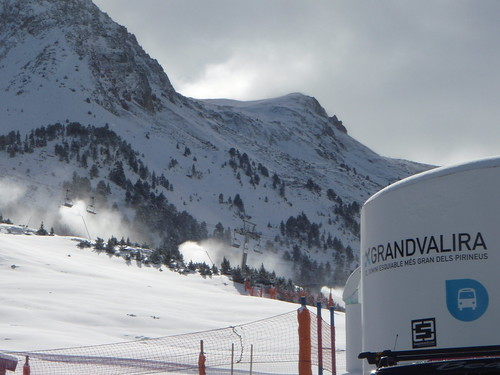 Ya llega la nieve a Grandvalira