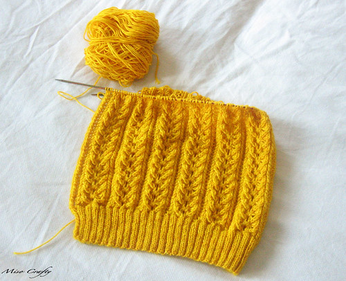 WIP: Queen Bee Cardigan