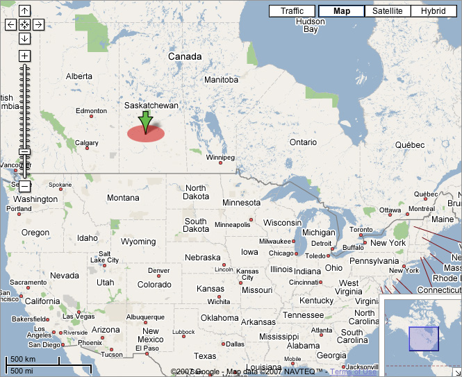 This is where Saskatoon is