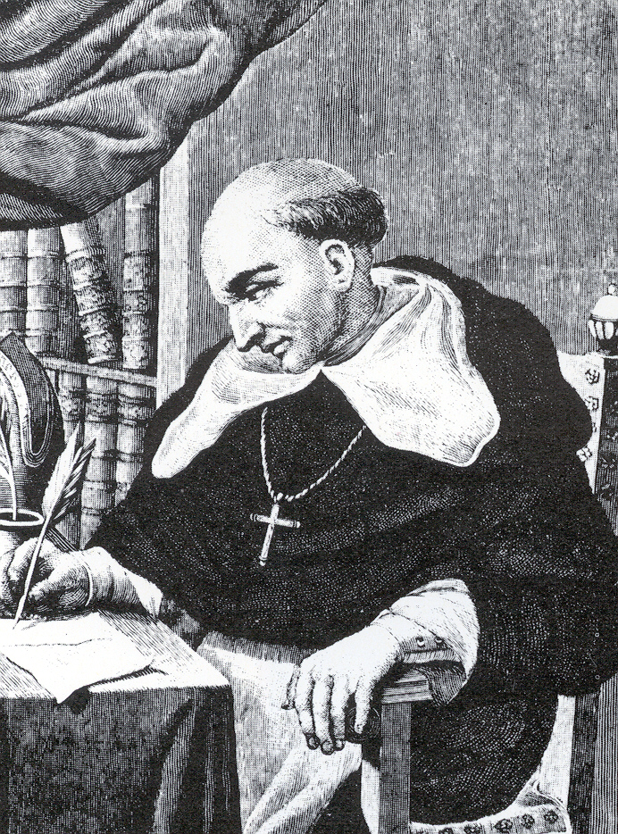 Dominican priest and Spanish chronicler Bartolomé de las Casas
