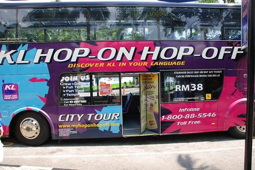 Hop on hop off, Malaysia