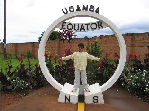 Uganda - Roadside Equator