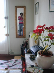 10, rue de Dammarie (redjoshuameg) Tags: 2003 selfportrait reflection mirror miroir cesson chezmamieetpp fotsdemonancienblog