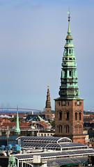 Churches and Bridge (Freenstyla) Tags: copenhagen view churchs oresundbridge