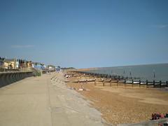Felixstowe sea front