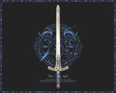Espada de Saber (victorgrval) Tags: night fate stay fatestaynight