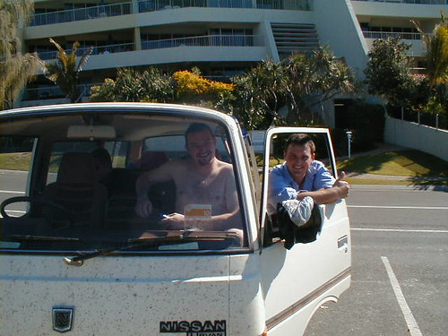 Wil and George at Noosa