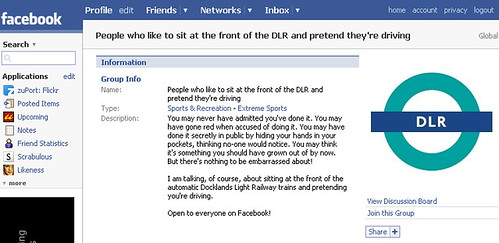 DLR Driving Facebook Group