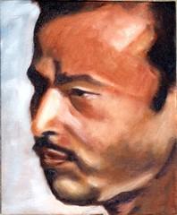 Ashulia man 2 - Before (Ujwala Prabhu) Tags: workinprogress wip anil oil ujwala canvasboard 10x12 ashulia