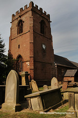 St Michael's Church, Shotwick (Brian Sayle) Tags: new england church st ancient northwest angels british stmichaels stmichael peninsula mersey michaels wirral merseyside parishchurch domesdaybook wirralpeninsula dioceseofchester gradeilisted shotwick 4737carlin