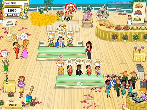Wedding Dash Game Screenshot 3