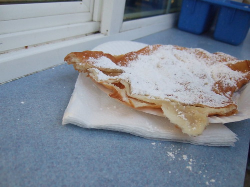 Elephant Ear Powdered Sugar