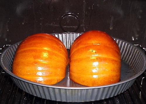 Pumpkin mounds