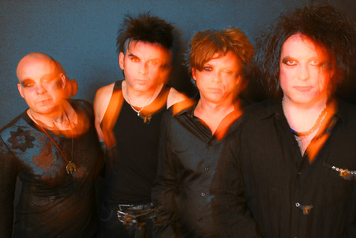 The Cure 4Tour Publicity Photo