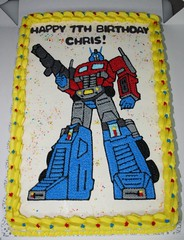 Transformer Cake (Jens Creations) Tags: birthday cakes cake japan usmc movie happy japanese prime robot marine transformer jens homemade corps transformers optimus marines iwakuni jenscakes
