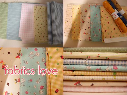 fabrics love!