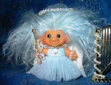 Vintage 1964 DAM Troll Doll