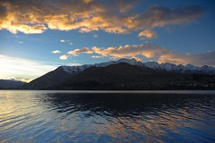 NZ - Queenstown - Wakatipu sunrise 4 (Darrell Godliman