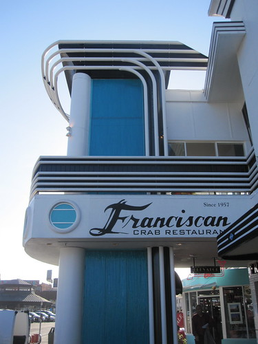 retro look of the Franciscan restaurant