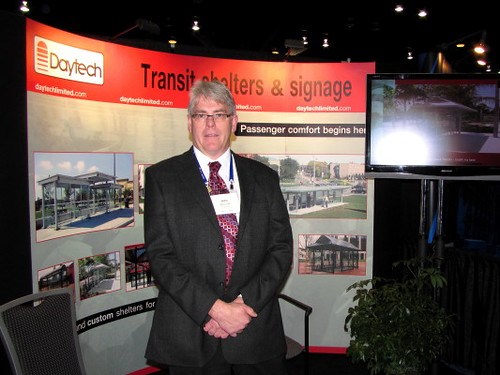 John Duthie, Daytech, the company that makes transit shelters, Trans-Expo 2010 Shows Hybrid Diesel-Electric, GPS, Wi-Fi, Solar-Power & H.264 Technologies in Public Transit Buses