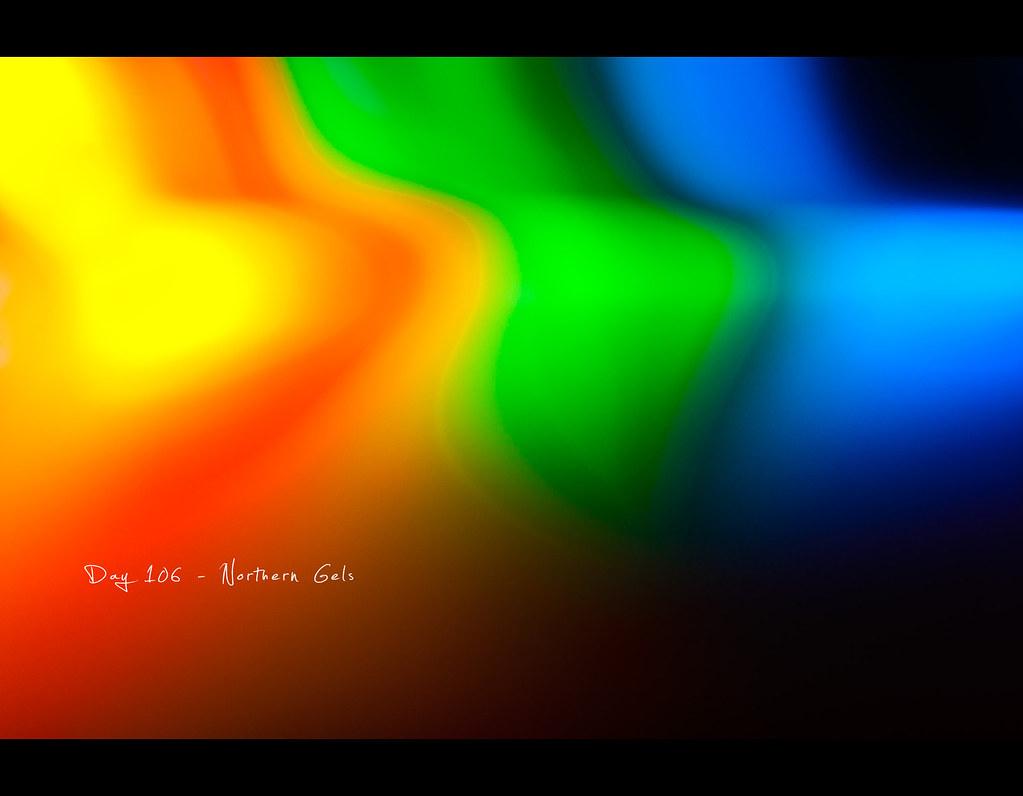 Day 106, 106/365, Project 365, strobist, Bokeh, colours, gels, lee gels, colour correction, northern lights, northern gels, wave, waves, ourdailychallenge, funky