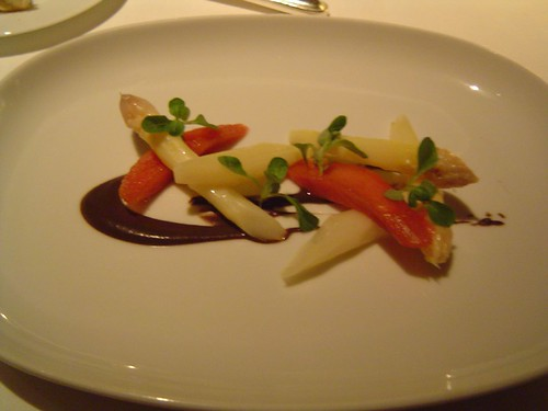 """SALAD OF WHITE ASPARAGUS"""