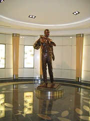 President Bush the First, namesake of the Houston airport