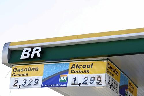 Brazilian Gasoline v. Ethanol