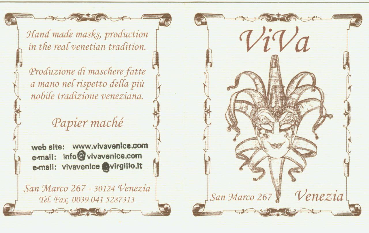 Venezia 我買面具的店Viva