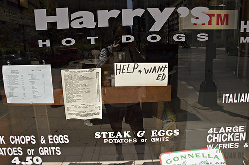 Harrys Hot Dogs Help Want Ed