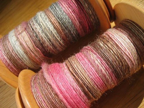 Spunky Eclectic merino/silk in The New Black - singles