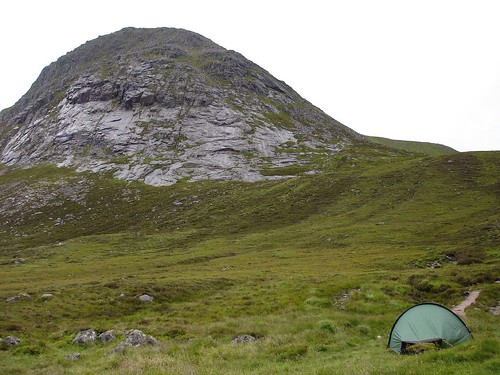 Pitch beside Corrour Bothy