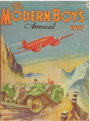 modern boy's annual 1937