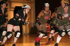 Oakland Outlaws' Jammer, making her move