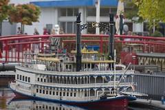 Raddampfer im Hamburger Hafen - by Alexander@Ulm