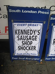 sausage shocker!