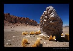 Wind Erosion (Carlos A Varela) Tags: chile travel rock landscape nikon desert wind d70s erosion valley atacama desierto altiplano sanpedrodeatacama salardetara